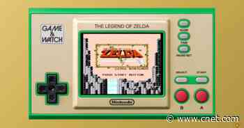 Of course Nintendo is making a Zelda Game & Watch     - CNET