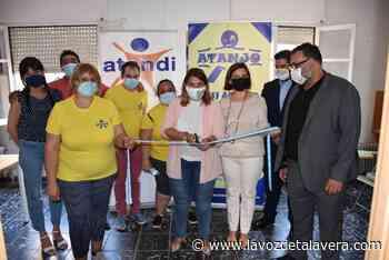 ATANDI estrena sede cedida por el Ayuntamiento de Talavera y 'reinaugurada' por la alcaldesa - La Voz de Talavera Digital