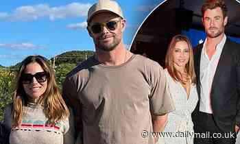 Chris Hemsworth and Elsa Pataky are back in their element at home in Byron Bay - Daily Mail