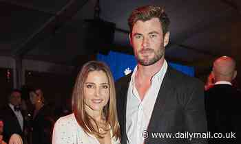Chris Hemsworth 'fails to make any bids' for charity during Gold Dinner auction - Daily Mail