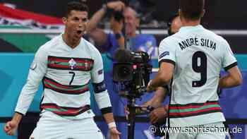 Ungarn gegen Portugal 0:3, EM-Vorrunde, Gruppe F, 1. Spieltag