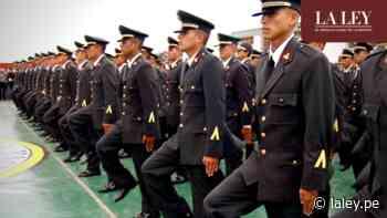 PNP: Definen criterios para el pase a situación de retiro por renovación de cuadros - La Ley - Perú