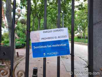 Alerta roja: cierra el Parque del Retiro desde las 18.00 horas del domingo y hasta que vuelva a ser seguro - zonaretiro.com