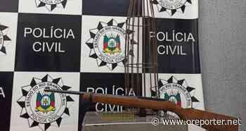 Homem é preso em flagrante com arma em Cachoeirinha - oreporter.net