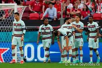 Ronaldo scores 2, Portugal beats Hungary 3-0 at Euro 2020