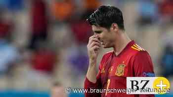Bei Spanien geht es nach dem 0:0 gegen Schweden heiß her