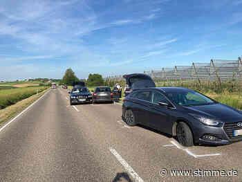 Unfall mit sechs Autos zwischen Gemmingen und Schwaigern - Heilbronner Stimme