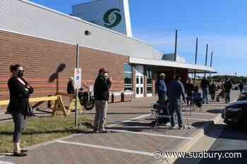 Sudbury residents lining up to get their vaccine jab at the walk-in clinics this week