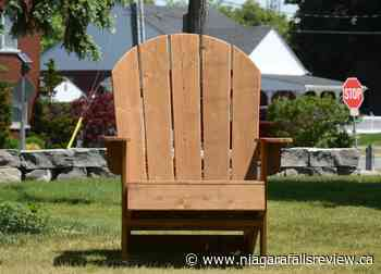 Big chairs to take in big view at Port Colborne's H.H. Knoll Lakeview Park - NiagaraFallsReview.ca