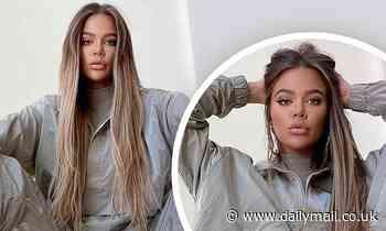 Khloe Kardashian looks unrecognizable as she shares glammed up snaps