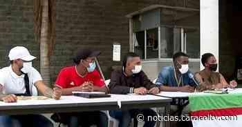 """""""Queremos que nos escuchen"""": el clamor de los jóvenes de la primera línea en Cali - Noticias Caracol"""