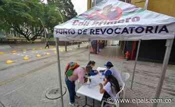 ¿Cómo va la recolección de firmas para el proceso de revocatoria del alcalde Ospina? - El País
