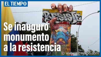 Paro nacional: construyen Monumento a la Resistencia en Cali - Cali - Colombia - ELTIEMPO.COM - ElTiempo.com