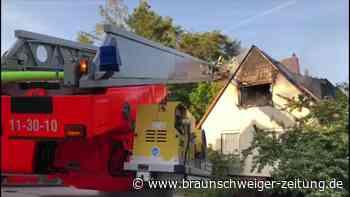 Dachstuhlbrand in Gifhorn