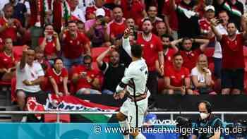 Portugal besiegt Ungarn: Ronaldo trifft an Rekordtag doppelt