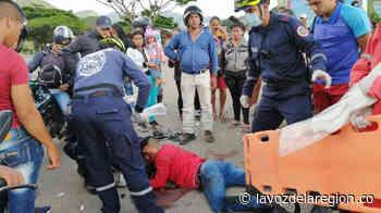 Colisión de motocicletas dejó dos personas lesionadas en Suaza - Noticias