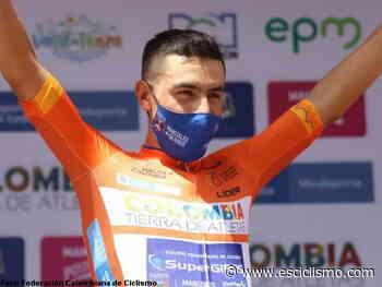 Bernardo Suaza, primer líder de la Vuelta a Colombia 2020 - EsCiclismo.com