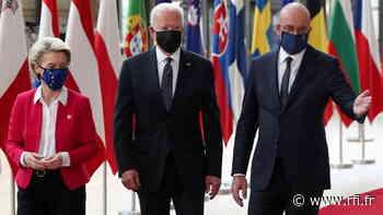 La Unión Europea recibe con alivio a Joe Biden para abordar numerosos temas - RFI