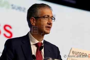 """Hernández de Cos ve """"crucial"""" completar la unión bancaria europea - Agencia EFE"""