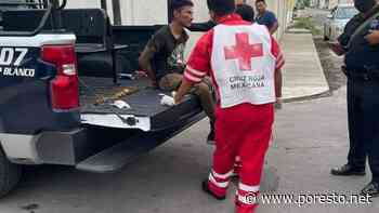 Vecinos golpean a ladrón tras robar un celular en calles de Chetumal - PorEsto