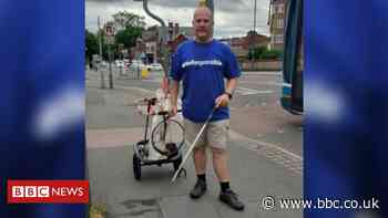 Trafford marathon litter pick leaves man with sore feet