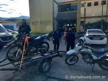 Moto com chassi adulterado é abandonada em Paraty - Diario do Vale