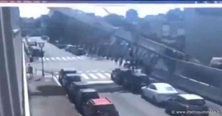 Milano, in un video il momento della caduta della trivella sulla sede dell'Ifom