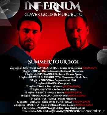Grotte di Castellana - Claver Gold e Murubutu debuttano con il tour ''Inferno'' - ViviCastellanaGrotte