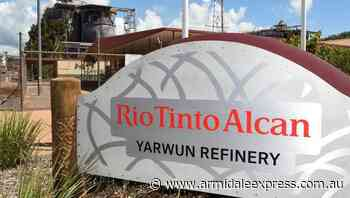 Rio Tinto to trial low-emissions refining - Armidale Express