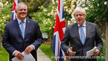 Govt outlines benefits of UK trade deal - Armidale Express