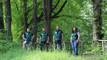 Vier Naturschutzwächter um die Flora und Fauna der Stadt Kaufbeuren - kreisbote.de
