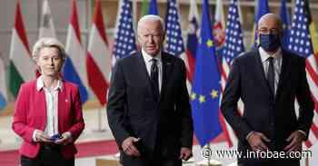 La Unión Europea y Estados Unidos acordaron una mayor coordinación en sus acciones frente a Rusia y China - infobae