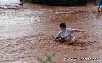 Una espectacular tormenta en La Rioja deja viñedos inundados y tejados destrozados - El Correo