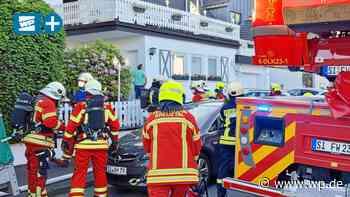 Alarm in Kreuztal: Qualm in Wohnhaus – aber kein Feuer - Westfalenpost