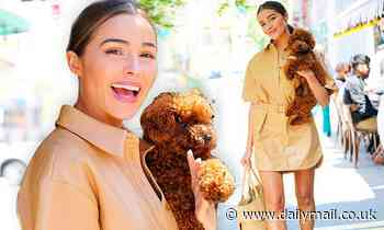 Olivia Culpo puts on leggy display as she flashes huge smile wpupOliver Sprinkles in NYC