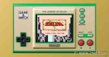 Nintendo's Zelda Game & Watch packs three classics on a tiny screen     - CNET