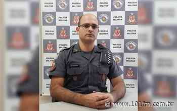 """Comandante da Polícia Militar de Jaboticabal concede entrevista ao Jornal 101; medidas protetivas de urgência e nova """"saidinha de presos"""" são os assuntos - Rádio 101FM"""