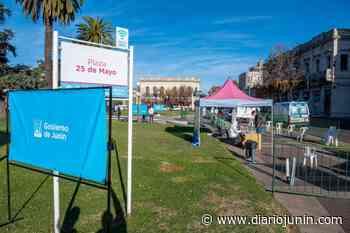 Testean nuevamente en la Plaza 25 de Mayo - diariojunin.com