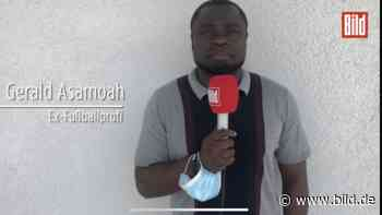EM 2021: So erlebte Gerald Asamoah das Eriksen-Drama - BILD