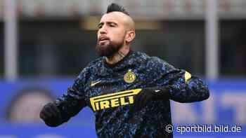 Inter Mailand: Antonio Conte kritisiert Ex-Bayern-Star Arturo Vidal - SportBILD