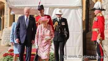 The Times view on the Queen's meeting with Joe Biden: Royal Diplomat - The Times