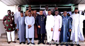 PDP Governors Hold Strategic Meeting In Uyo - Channels Television
