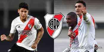 JUGADORES COLOMBIANOS | Explicaciones de Matías Suárez sobre el mal momento de Jorge Carrascal en River Plate - Comutricolor