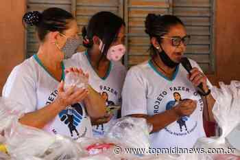 Líder de projeto humanitário, Maria Helena apela por comida e agasalhos no Nova Serrana - Top Mídia News