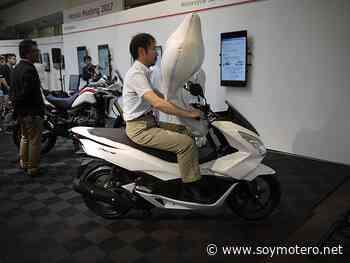 Honda sigue adelante con su airbag para scooters - SoyMotero.net