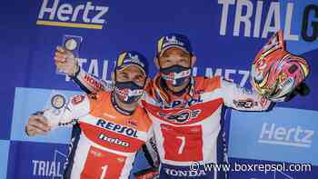 TrialGP: Doblete del equipo Repsol Honda en Italia - Box Repsol