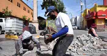 En operación Programa de Bacheo Permanente en Guadalupe - NTR Zacatecas .com