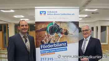Volksbank Brilon-Büren-Salzkotten zieht trotz Corona positive Bilanz - sauerlandkurier.de