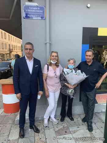 Bastia : La rue de la Miséricorde portera aussi le nom de René Viale - Corse Net Infos