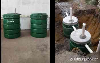 Fossa ecológica é construída em residências de Guapimirim | Guapimirim | O Dia - O Dia